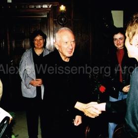 2001 in Sofia presenting the film I like Music