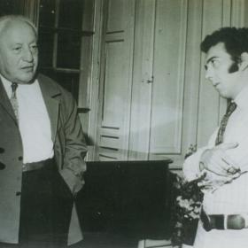 Vladiguerov with Rafael Orozco