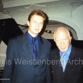 In Engelberg with Andrey Ponochevny