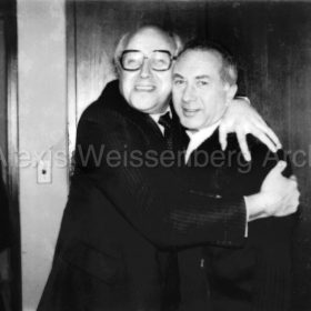 With Rostropovich