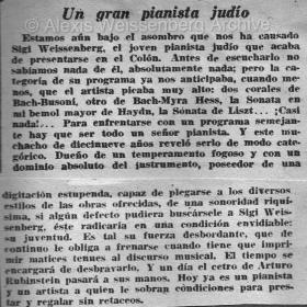 1948 Buenos Aires Recital Teatro Colón 2