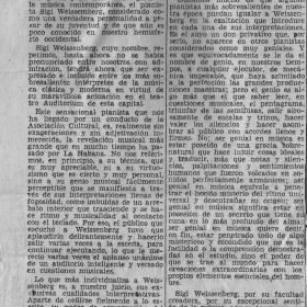 1948 La Habana Recital Diario de la Marina