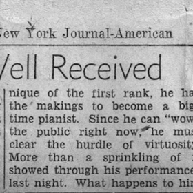 1948 New York Journal-American Town Hall Recital