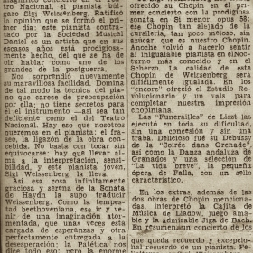 1948 Panama Diario Independiente Recital Teatro Nacional 3