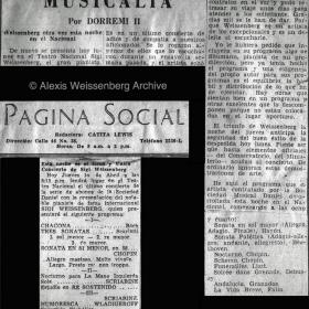 1948 Panama Recital Teatro Nacional 2