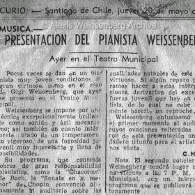 1948 Santiago de Chile El Mercurio