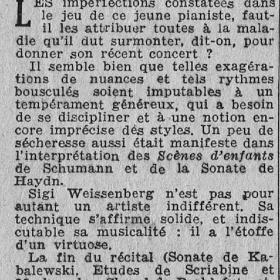 1949 Paris Salle Gaveau Recital