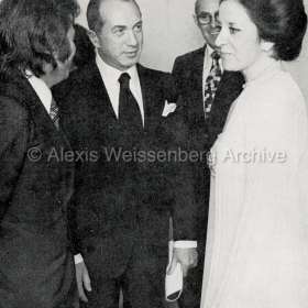 1975 with Teresa Berganza and Antoni Ros Marbà
