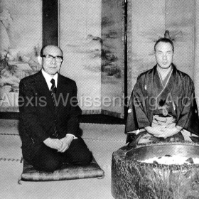 1976 at the Tea ceremony in Kyoto