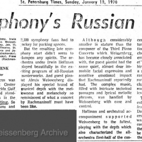 1970 January 18 St Petersburg Times Fla Rach 3 Hoffman