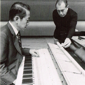 With tuner Naotomo Kinebuchi