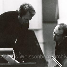 1972 with Carlo Maria Giulini