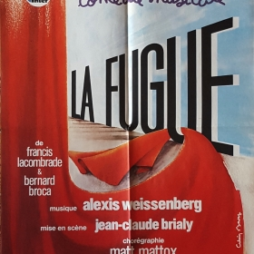 1979 Poster of the musical comedy La Fugue