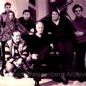 1994 Engelberg Masterclasses. Among others, M. Okonsar, I. Späth, L.Vinocour, P.de Asis