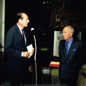 1994 with Chirac, Mayor of Paris for the Officier de la Légion d'Honneur award