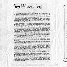 1953 February Santander Recital